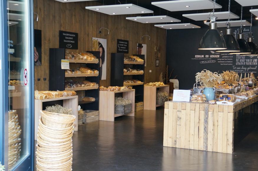 Inrichting bakkerswinkel
