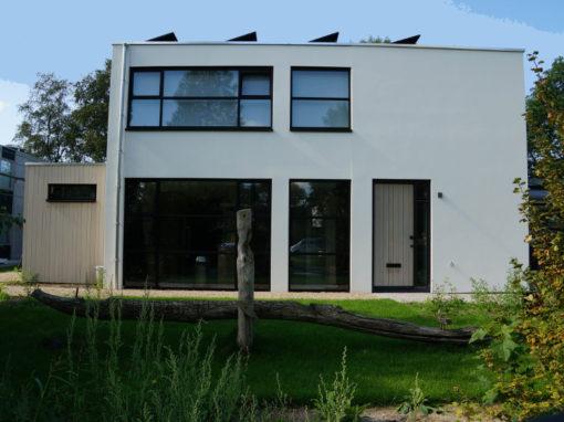 Verbouwing vrijstaande woning – voorgevel