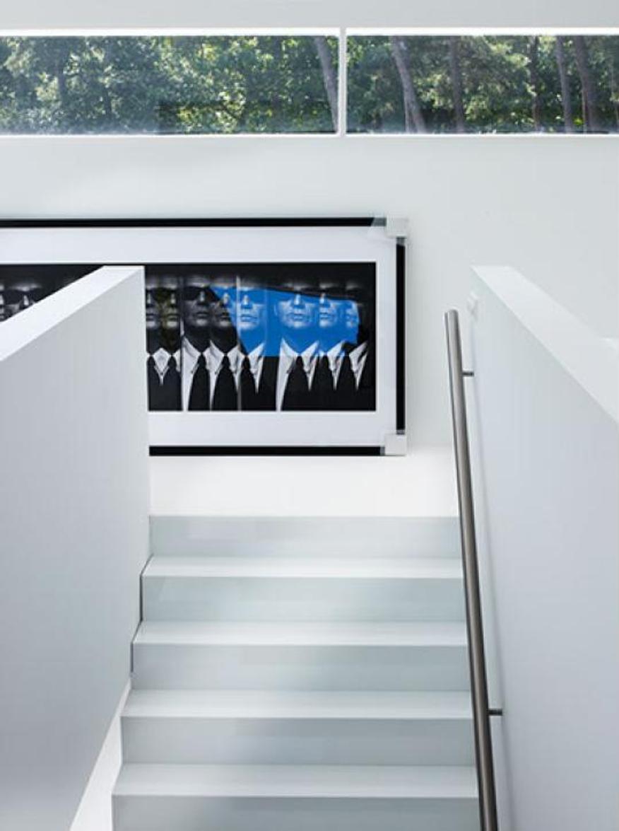 Nieuwbouw bosvilla – Interieur trap