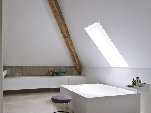 Nieuwbouw stolpboerderij – Badkamer